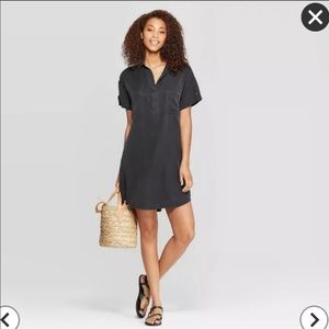 Universal Threads- Black T-Shirt Dress